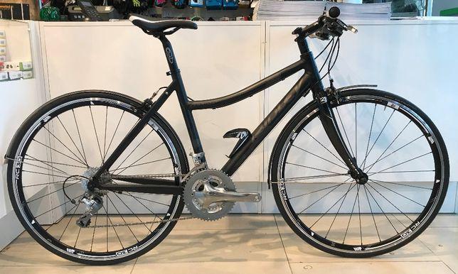 Rower szosowy/ szosa Ridley Tempo z prostą kierownicą Tiagra karbon