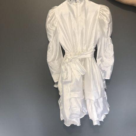Sukienka komunijna i bolerko