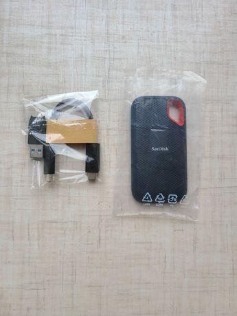 Внешний SSD диск SanDisk Extreme 1TB USB Type-C 3.1