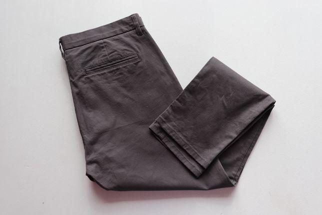 Spodnie męskie chinosy NEXT stretch chino Skinny W34 L29. Stan idealny