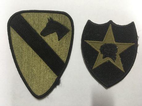 Us Army naszywki Multicam