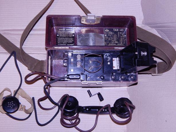 ТАИ-43 — военно-полевой телефонный аппарат из СССР