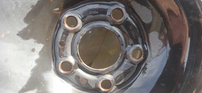Koła zimowe na felgach stalowych Renault laguna II 205/55/16