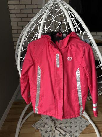 Куртка лижна дівчинці 134-140р
