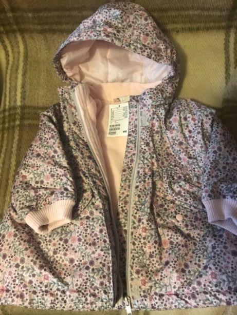 Новая демисезонная куртка h&m 12-18 мес