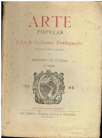 10743 Arte popular: usos e costumes portugueses.- 2º vol. por Armando