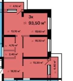 Продам 3-х комн квартиру с видом МОРЯ на Французском бульваре