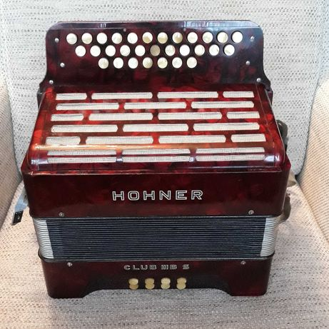 akordeon Hohner Club IIIB S - heligonka