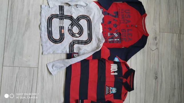 Ubrania r.98,bluzki,bluza,spodnie