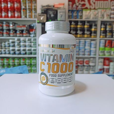 Black friday -30% Biotech Witamina C 100tabs 1000mg, Odporność Zdrowie