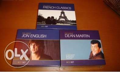 Dean Martin, Jon English, French Classics - 9 Cds