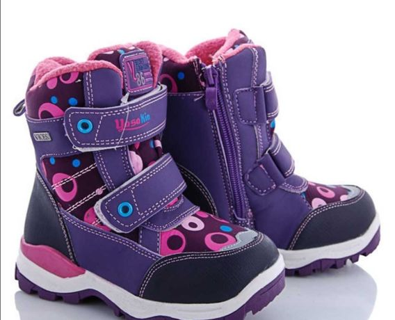 Ботинки зимние для девочки 27-31 размеры