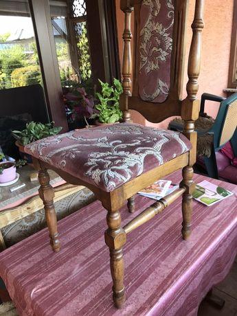 Krzesło drewniane toczone