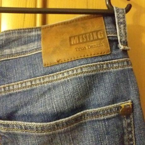 Mustang spodnie jeansy straight 33/30