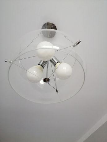 Lampa sufitowa szkło +gratis