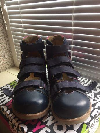 Ортопедичні туфлі aurelka р.35 23,4см/ортопедические туфли