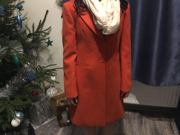 Płaszcz zimowy włoski TRUSSARDI