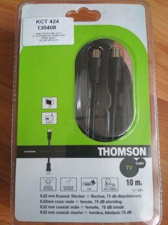 Thomson Kabel >75dB 10M kabel koncentryczny antenowy TV
