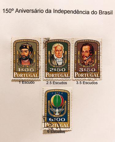 300 Selos de Portugal de 1970 a 1979