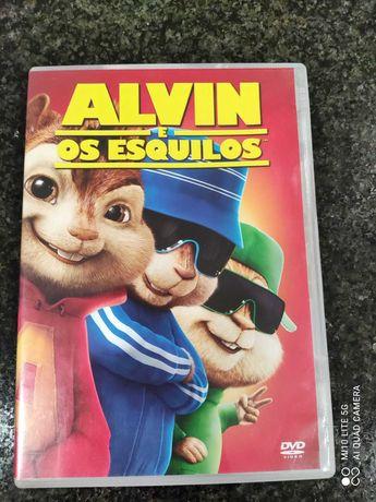 DVD - Alvin e os Esquilos