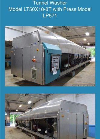 Lavatec túnel de lavar roupa industrial 3500kg/h