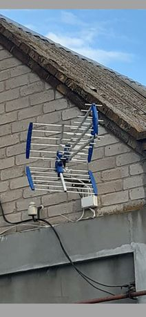 Установка цифровых антенн.А также спутниковых тарелок...
