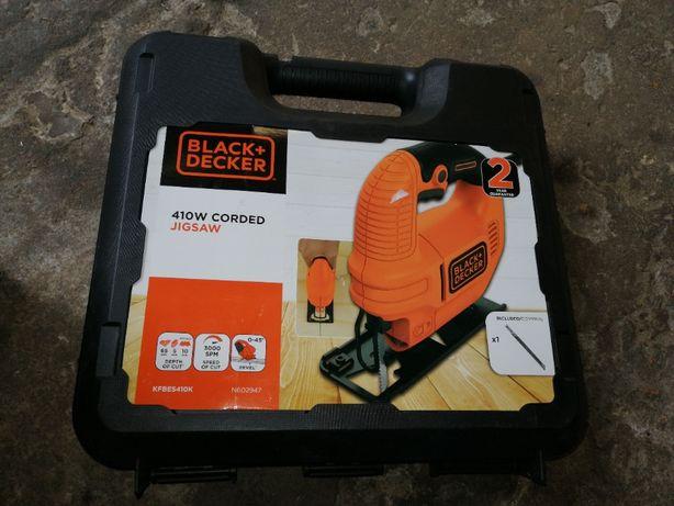 Wyrzynarka do drewna metalu Black+Decker KFBES410 410W Polecam