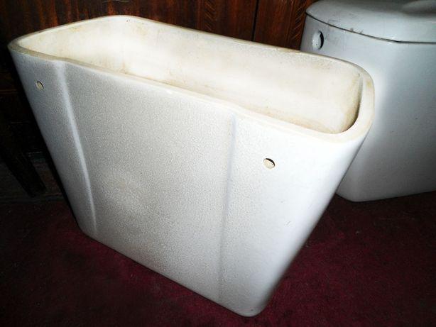 Бачок сливной для унитаза белый, керамика; 16 см (крепление)