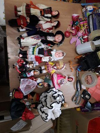 Duży zestaw retro lalki guraleczki i inne lalka prl