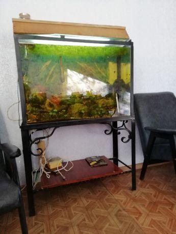 Продам большой аквариум