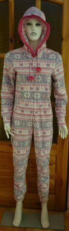 ONESIE kombinezon piżama L/XL Pastelowe WZORKI
