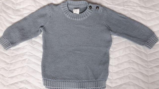 Sweter h&m rozmiar 68 stan idealny