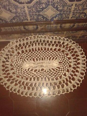 Centro de Mesa em Crochet