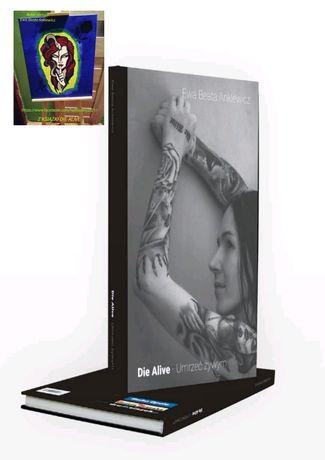 Książka Die Alive Umrzec żywym EDYCJA LIMITOWANA Premiera na faktach