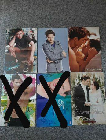 Plakaty Robert Pattinson, Zmierzch, Cyrus, LMFAO Lena Mupety