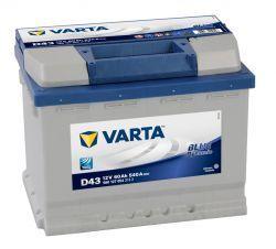 Аккумуляторы VARTA Blue Dynamic 6cт-60А/ч L+ Код 560127054 540en