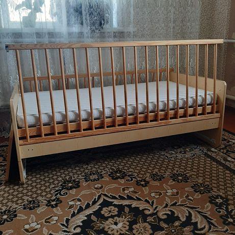 Дитяче ліжко до 5-6 років