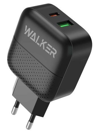 Зарядное устройство (адаптер) WALKER WH-37 PD3.0_3A/QC3.0_3.4A/18W