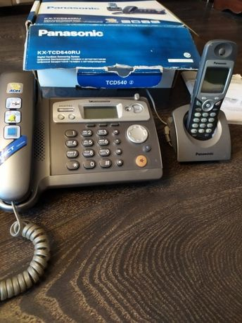 Беспроводной телефон с базой для квартиры или дома Panasonic
