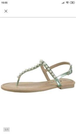 Sandały rozmiar 39 marki City Walk , wkładka 23cm