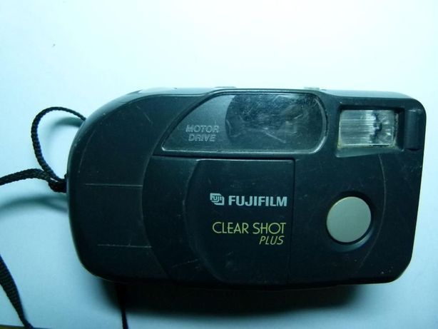 Aparat analogowy Fuji Film Clear Shot Plus vintage zabytek