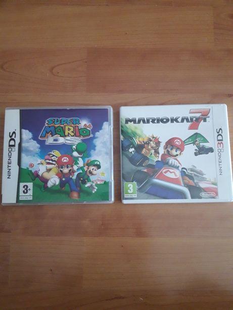 Jogos Nintendo ds e 3ds super Mário