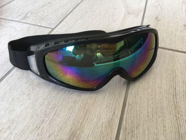Лыжная маска радужная горнолыжная очки лыжные вело мото сноуборд лыжи