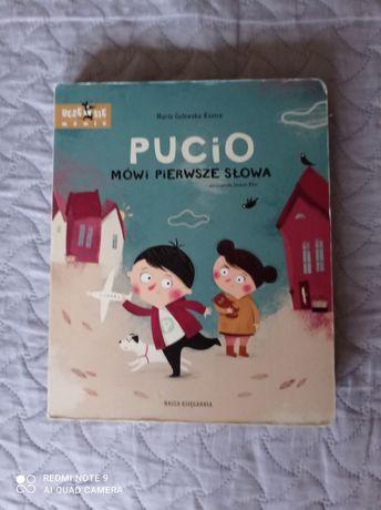 Pucio mówi pierwsze słowa -ksiazka