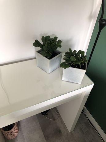 Toaletka biurko ikea +szafka z szufladami