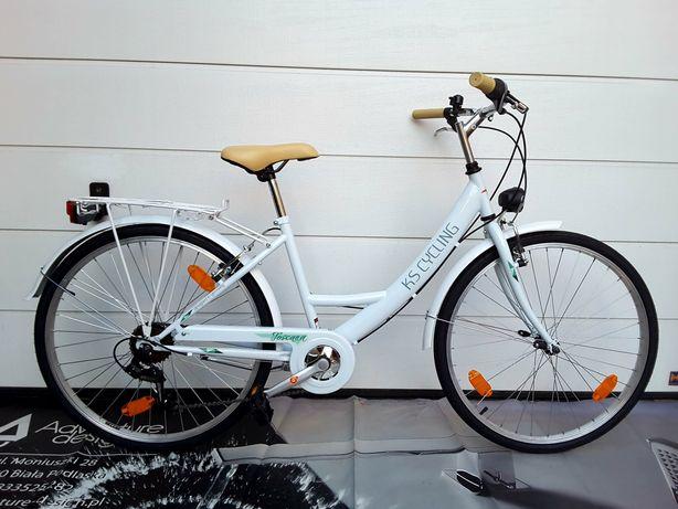 Lekki Nowy rower miejski koła 26 ( 7 biegowy )