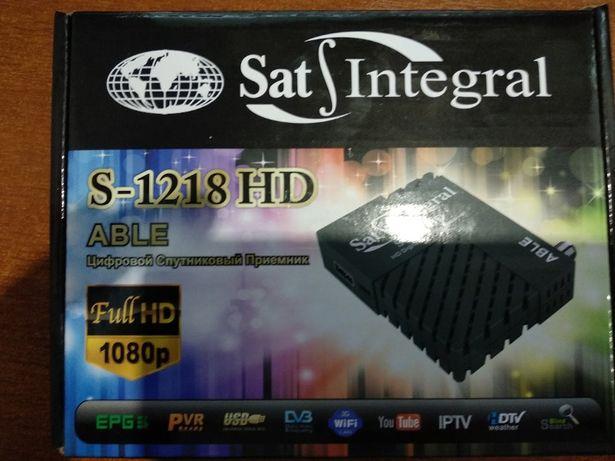 Продам супутниковий приймач Sat-Integral S-1218 HD Able