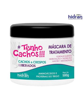 Máscara de Caracóis 500g Tenho Cachos Hidran