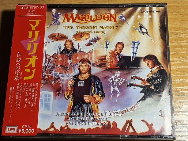 Marillion - The Thieving Magpie CP25 5767/68 Toshiba Japan OBI