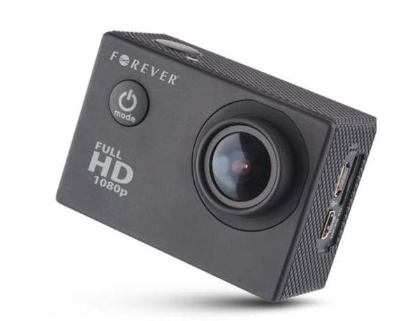 Forever SC-200 Kamera Sportowa +zestaw akcesorii (prawie nie używana)
